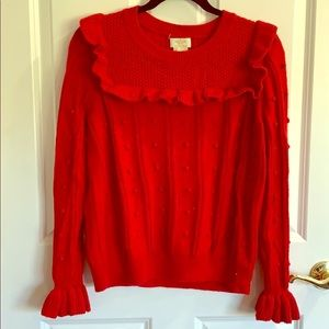 Kate Spade Red Sweater